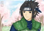 ::Smiling Sasuke:: by blumarine