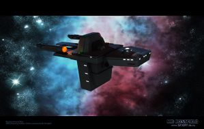 USS Antares by MrRonsfield