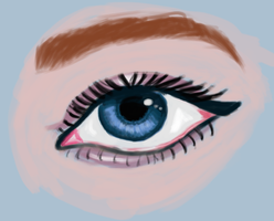 eye practice by claricesparrow