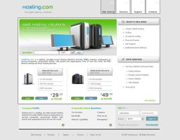 Web Hosting Template - WH003 by phyllis-L