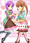 Seira and Verity for Chancetodraw by 100procent-Juul