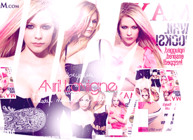 Avril lavigne choppyblend by Rose-Ann95