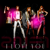 2NE1: I Love You Ver. 5 by Awesmatasticaly-Cool