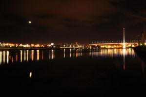 Bolte and the moon by abhenna