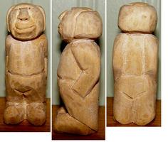 Carved Small Old man by Des804