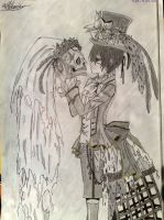 Ciel Phantomhive by Art3miys