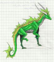 Another Green Dragon by MuniaElena