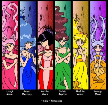 NSG Inner Princesses Colored by nads6969