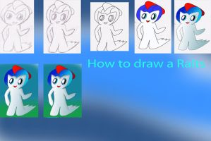 how to Draw a ralts by XTorbenX