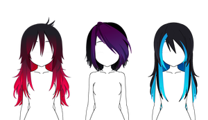 EMO EDITION Hair Exports by Omichiwon