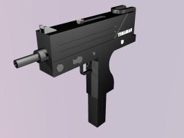 Mac 10 Rendered by Timaman