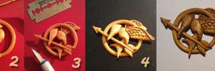 Hunger games WIP by ichigocreations