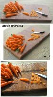 carrots fimo by Ivonea