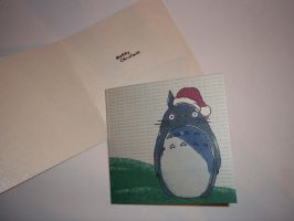Totoro Christmas card 2 by arteclair