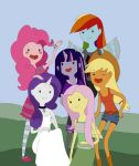 My Little Pony - Adventure Time Style by BakasiaxD
