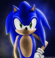 Sonic The Hedgehog by JoelWhite