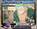 Roronoa Zoro Theme Windows 7 by Danrockster