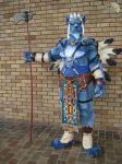 Kimahri fursuit by Fatkraken