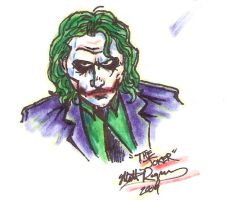 Joker sketch by Space-Ace-Sco