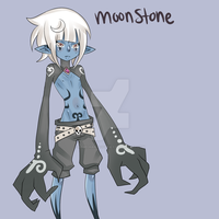Dark Elf OC MoonStone by RageChan-OCFamily