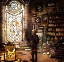 Secret library by ThesongofOwls