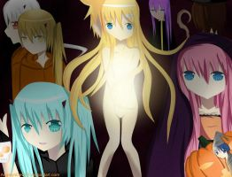 Vocaloid_Halloween_Days by shimei17