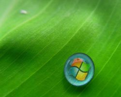 Windows Vista Droplet by awe-inspired