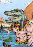Sobek - Classic Mythology by tonyperna