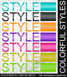 Colorful Styles by DontCallMeEve