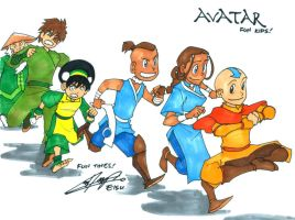 Avatar Fun Kids by eisu