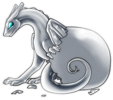 Free - Pern Hatchling Template by HeartofPern