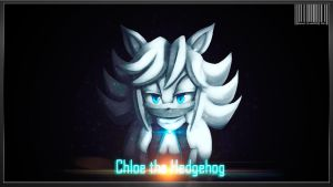 COMM: CHLOE THE HEDGEHOG by GodzillaJAPAN