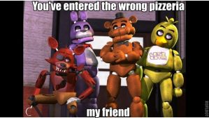 Wrong pizzeria by kinginbros2011