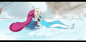 .Frozen: Elsa's death. by Kikuri-Tan