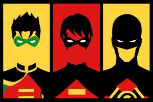 Evolution of Tim Drake by phil-cho