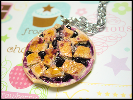 Blackberry Cobbler Necklace by GrandmaThunderpants