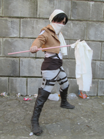 Rivaille - It's time to battle! by KebabHero