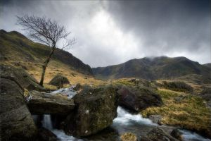 Snowdonia III by Mohain