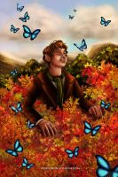Bilbo in Mirkwood by Mareishon