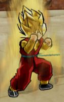Dragon Ball Heroes: Hero SSj by Fipossss