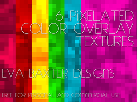 EVA BAXTER DESIGNS - PIXELATED OVERLAY TEXTURES by EvaTakesNoPrisoners