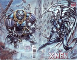 Archangel vs Apocalypse by edtadeo