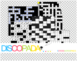 5 Crosswords PNG + by Discopada