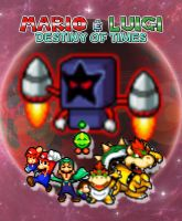 Mario and Luigi Destiny of Times Poster 2 by KingAsylus91