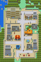 Rustboro city remake old by Pokemon-Diamond