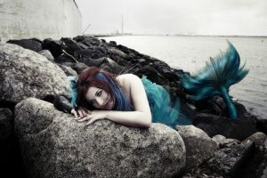 Wastewater mermaid by Dream-traveler