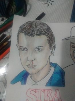 Eleven, Stranger Things by Therunawayshadow