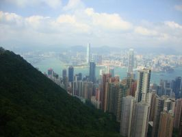 Victoria's Peak 2 by Laura-in-china