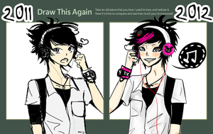 Draw This Again Challenge by NightRainBorn