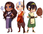 -Commission- Avatar: The Last Airbender by The-Odd-Fox